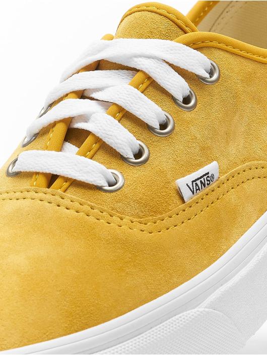 Vans Сникеры UA Authentic желтый