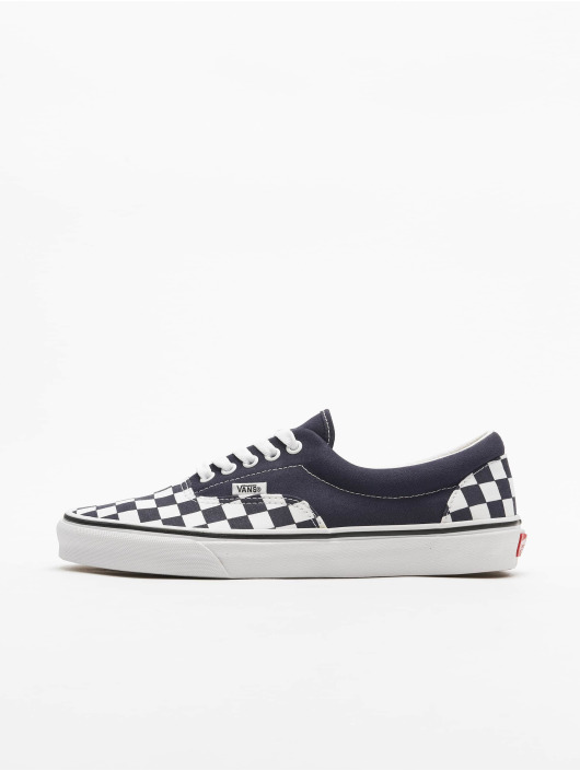 Vans Baskets UA Era Checkerboard bleu