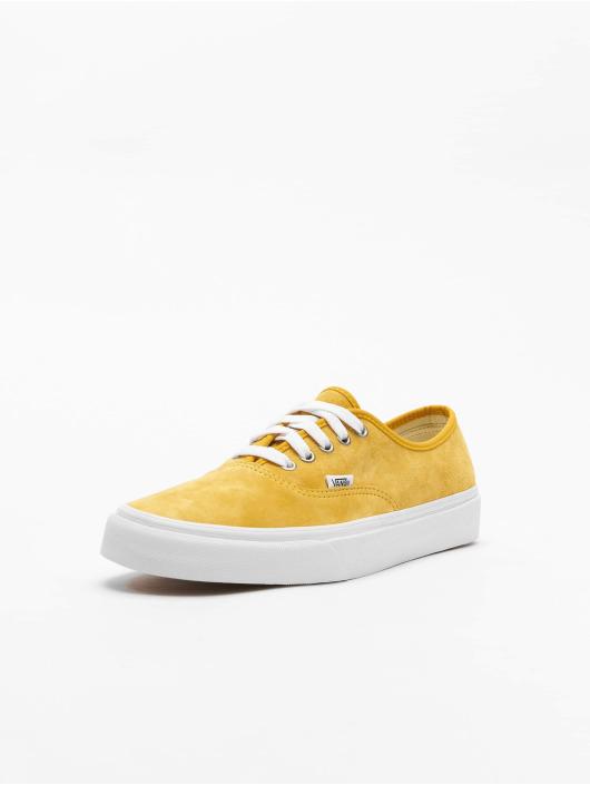 Vans Baskets UA Authentic jaune