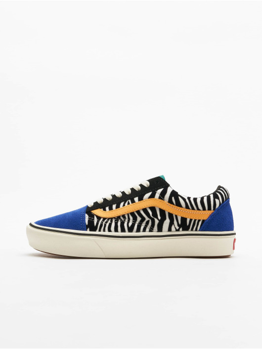 Vans UA Comfycush Old Skool Zebra Sneakers Tidepool/Surf The Web