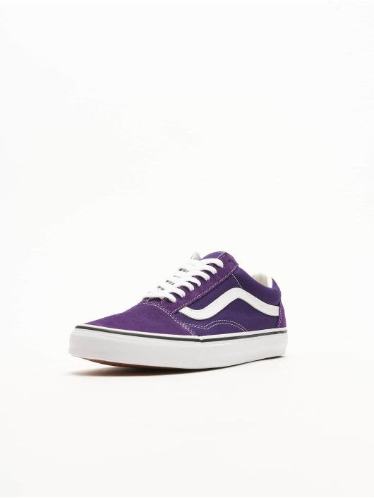Détails sur Vans Old Skool Violet Blanc pour Femme en Daim Baskets afficher le titre d'origine