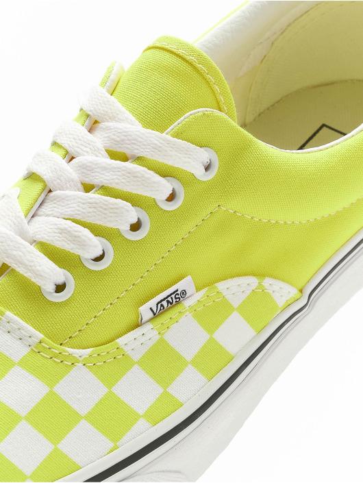 Vans Baskets UA Era Checkerboard vert