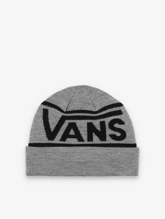 Vans Beanie Drop V Stripe Cuf grau