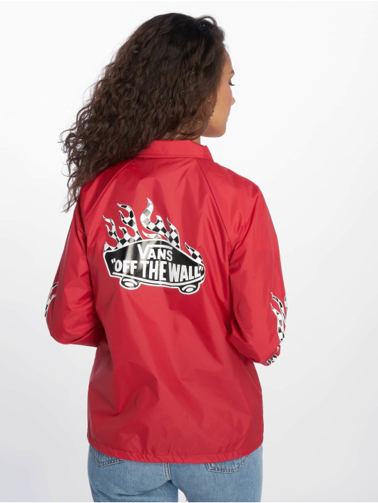 Vans College jakke Checker Flame red
