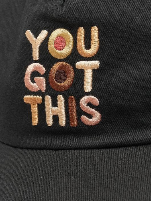 Vans snapback cap Bca Courtside zwart