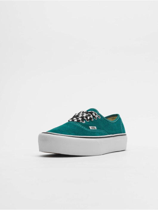 Vans Sneaker UA Authentic Platform 2.0 grün