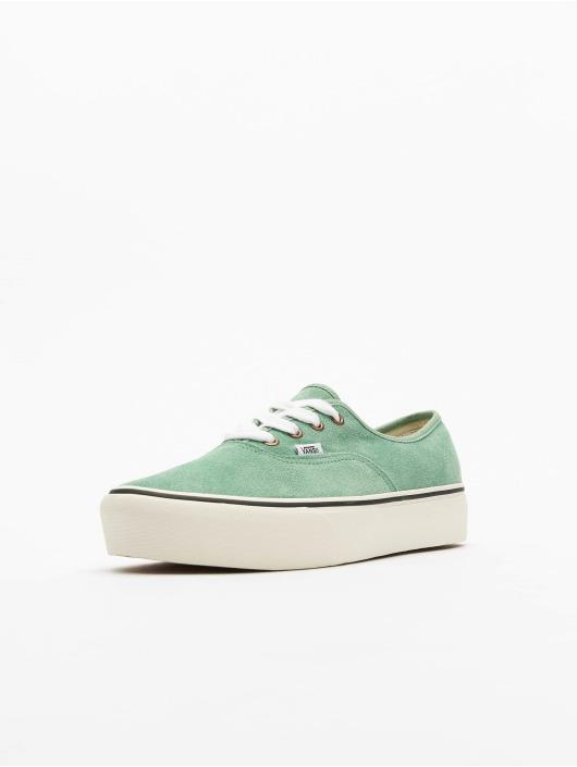 Vans Sneaker Ua Authentic Platform 2.0 grün