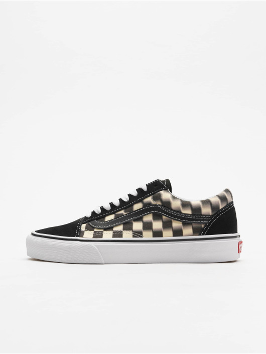 Vans UA Old Skool Sneakers Blur CheckBlackClassic