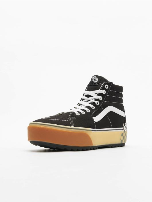 Vans UA Sk8 Hi Stacked Sneakers BlackCheckerboard