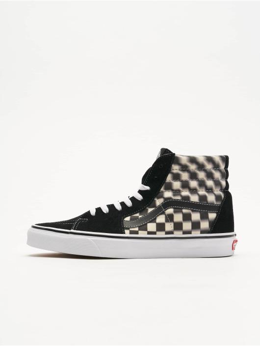 Vans UA SK8 Hi Sneakers Blur CheckBlackClassic