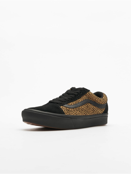 Vans sneaker UA Comfycush Old Skool Tiny Cheetah zwart