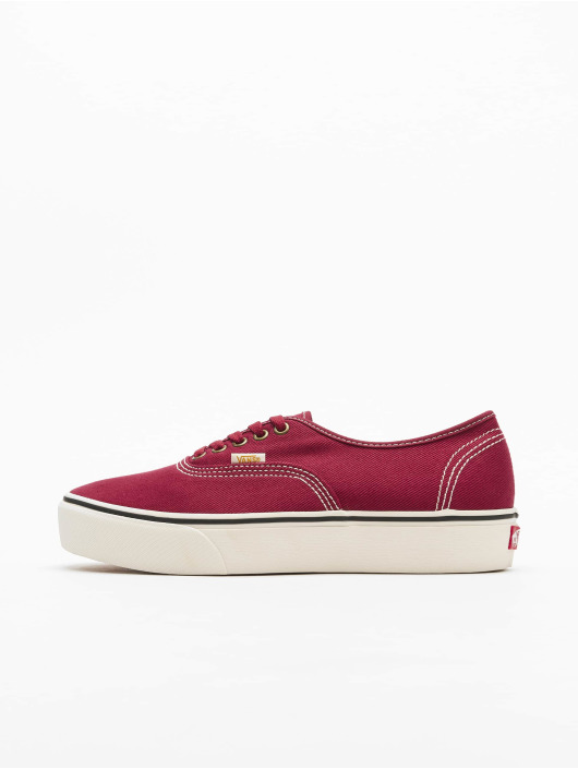 Vans Sneakers Ua Authentic Platform 2.0 èervená
