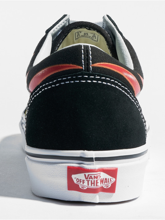 Vans Sneakers Old Skool Flame czarny