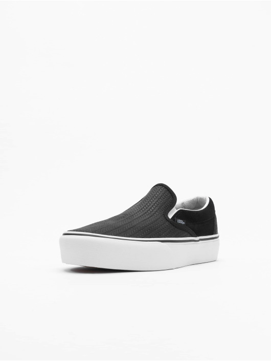Vans Sneakers UA Classic Slip-On Platform czarny