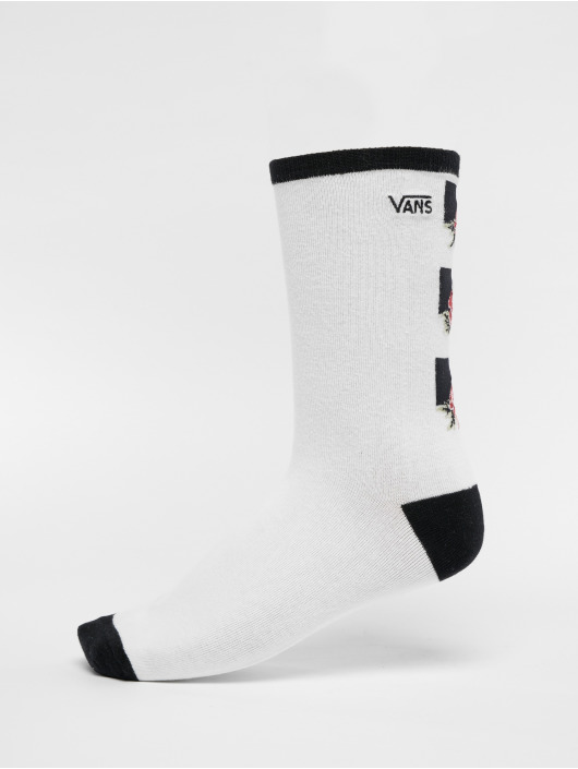Vans Socken Rose Ticker weiß