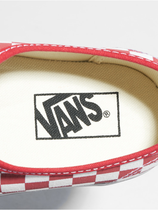 Vans Tøysko Authentic Platform 2.0 red
