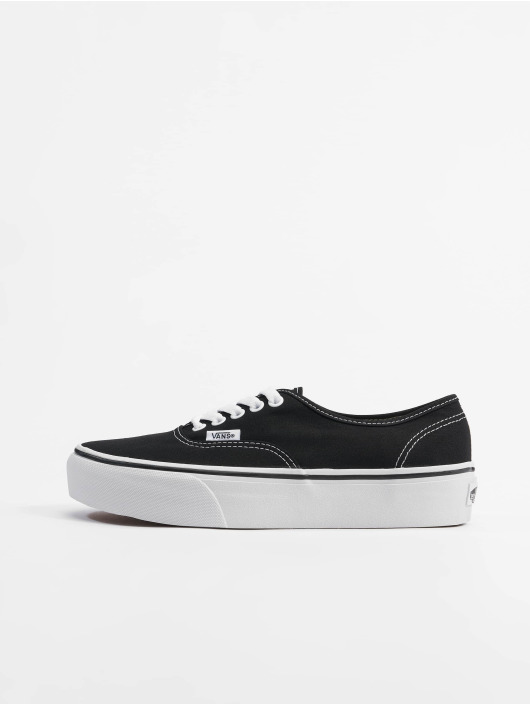 Vans Tøysko Authentic Platform 2.0 svart