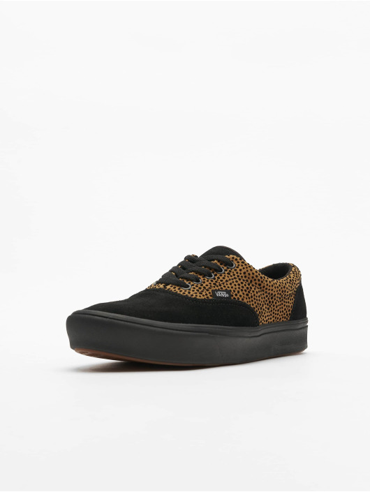 Vans Tøysko Comfycush Era Tiny Cheetah svart