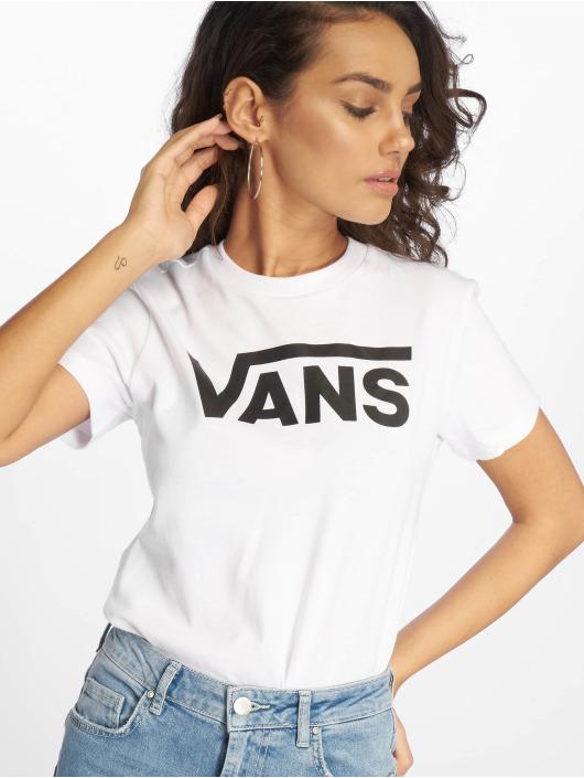 c11dd295e1c3a Vans   Flying V blanc Femme T-Shirt 631979