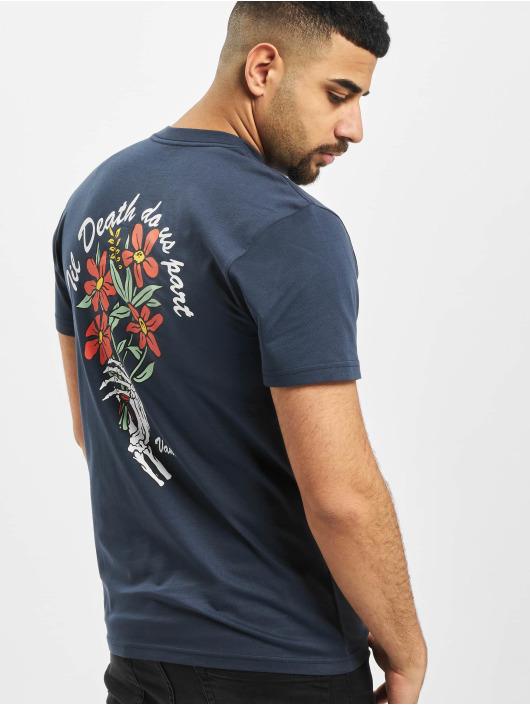 Vans T-Shirt Til Death Pocket blue