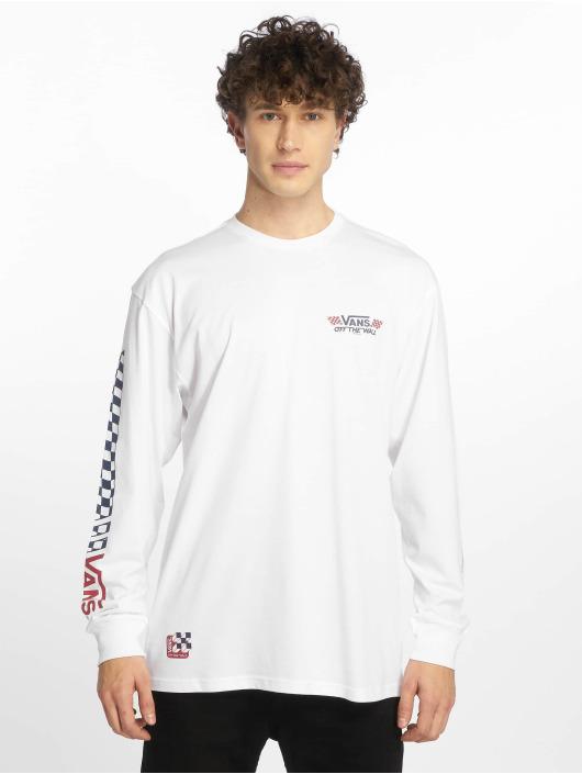 Vans T-Shirt manches longues Crossed Sticks blanc