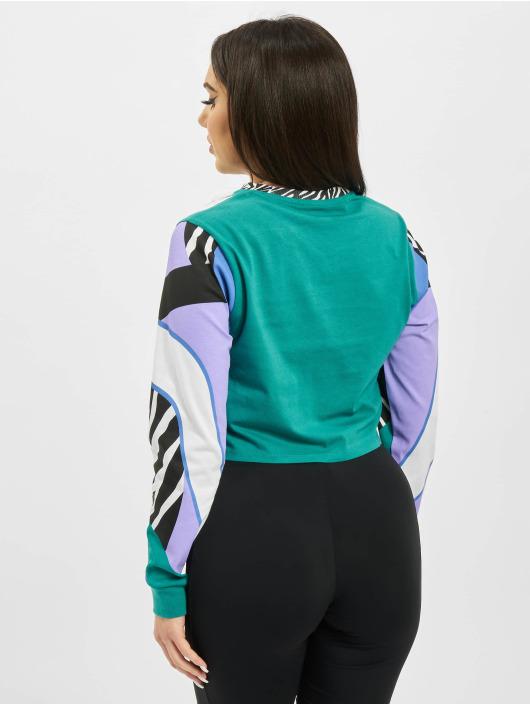 Vans T-Shirt manches longues Zebra vert
