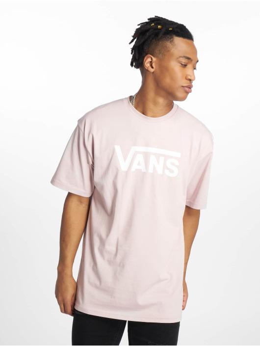Vans t-shirt Classic paars