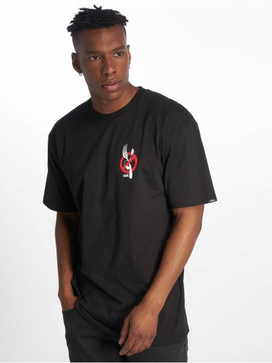 Vans T-Shirt Zero Forks schwarz