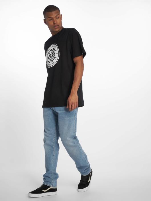 Vans T-Shirt Checker Co. II schwarz