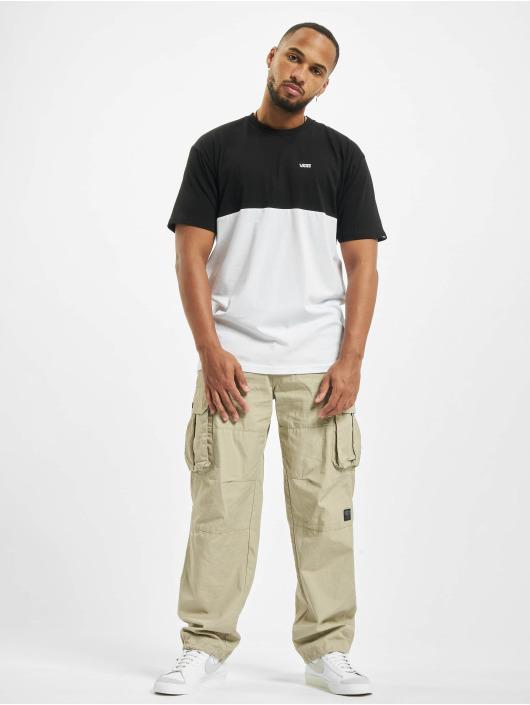 Vans t-shirt Colorblock wit