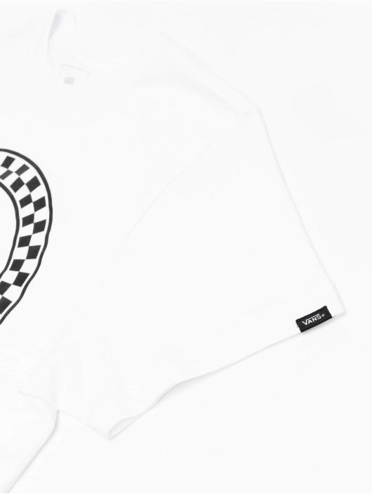 Vans T-shirts Side Stripe hvid