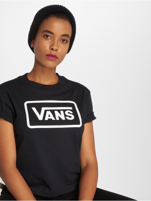 Vans T-Shirty Boom Boom Boxy czarny