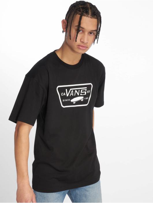 Vans T-Shirty Full Patch czarny
