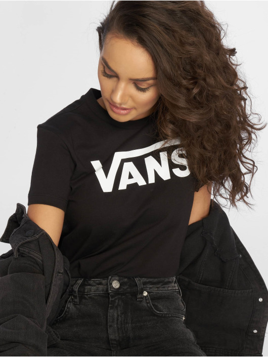 Vans T-Shirty Flying V czarny