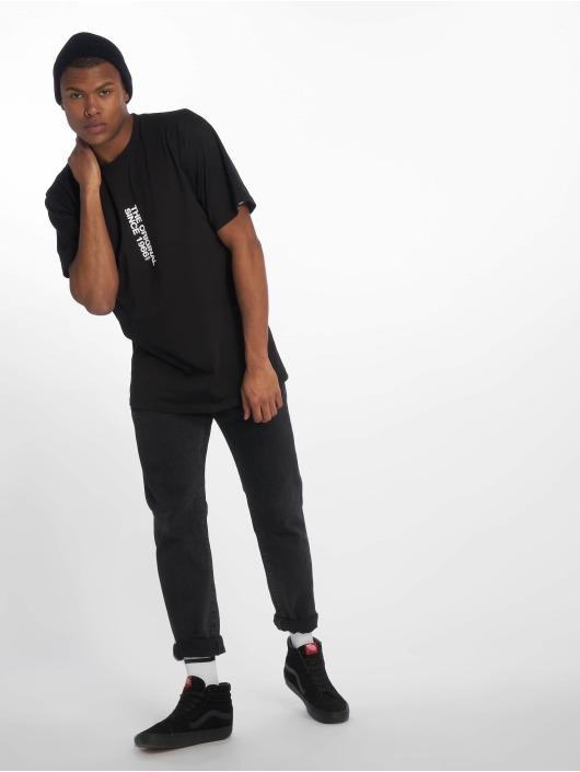 Vans T-Shirty Distort Center czarny