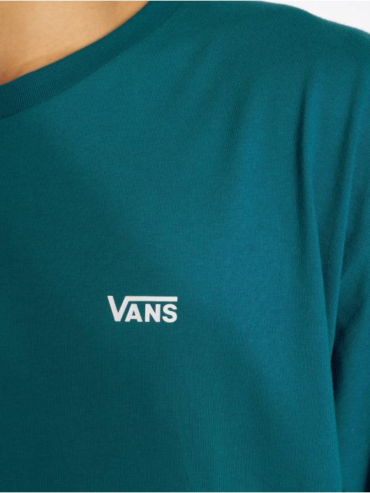 Vans T-Shirty Left Chest Logo niebieski