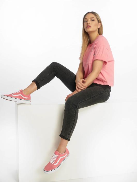 Vans T-Shirty Brush Off pink