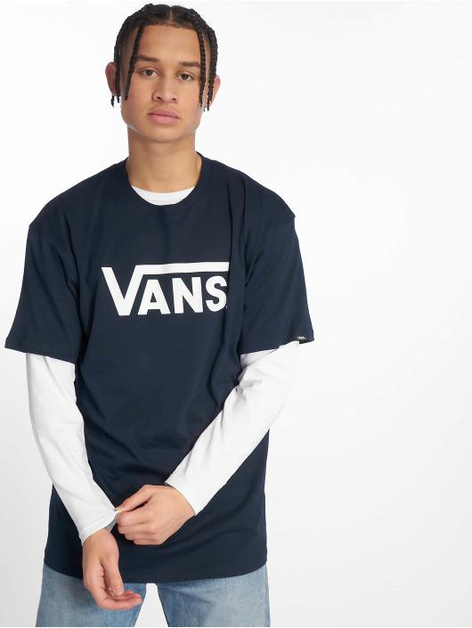 Vans T-skjorter Classic blå