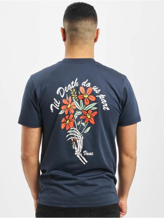 Vans T-skjorter Til Death Pocket blå