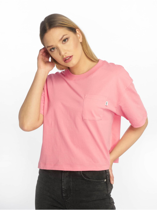 Vans T-skjorter Brush Off lyserosa