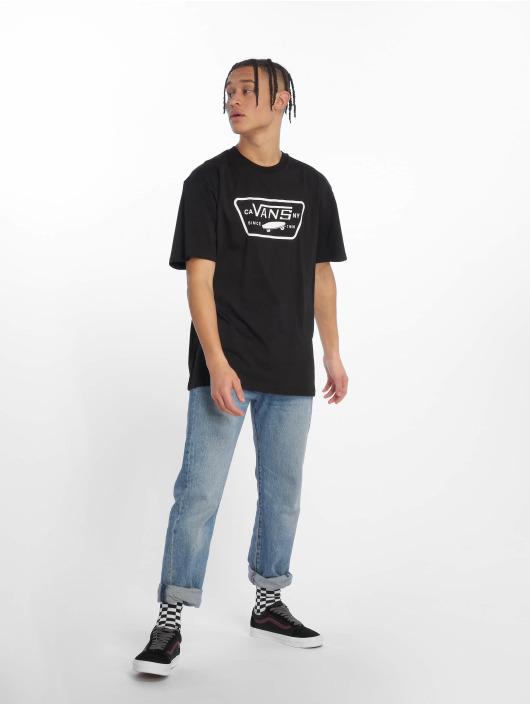 Vans T-skjorter Full Patch svart