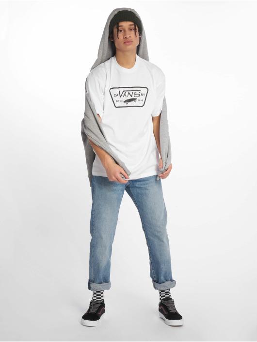 Vans Tričká Full Patch biela