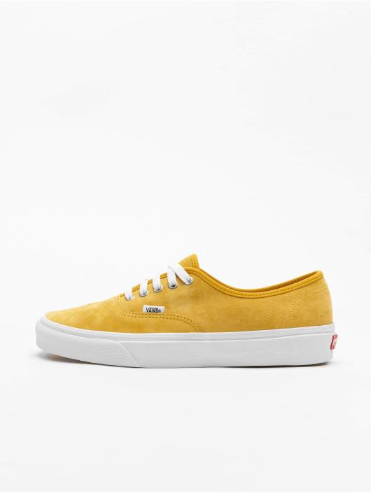 Vans Zapatillas de deporte UA Authentic amarillo