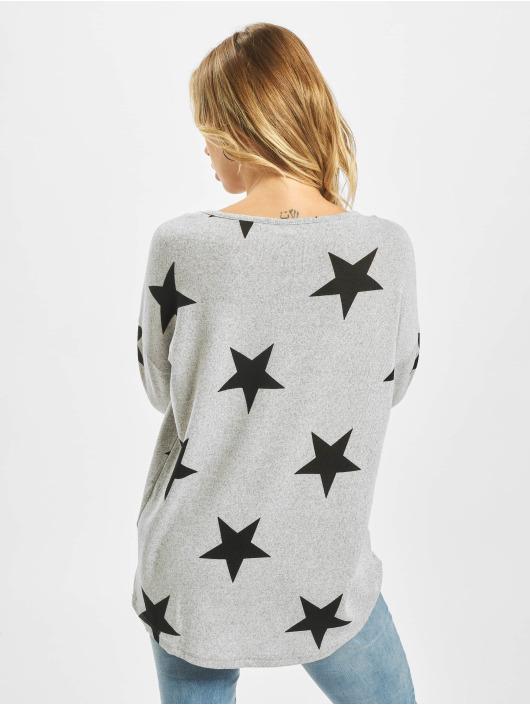 Vero Moda Camiseta de manga larga vmMalena 3/4 gris