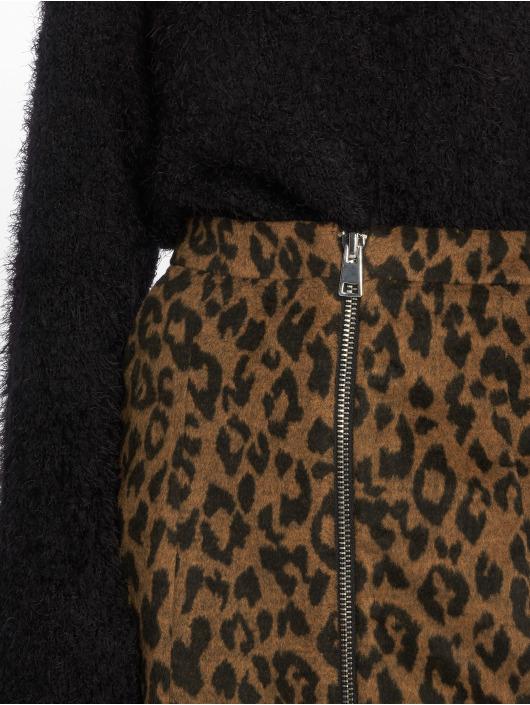 Vero Moda Jupe vmJana Leopard brun