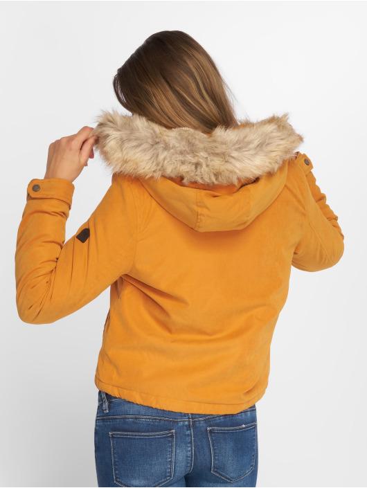 Vero Moda Manteau hiver vmLimit Brush jaune