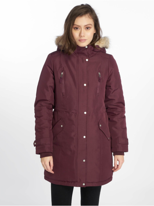 Vero Moda Manteau hiver vmTrack Expedition 3/4 rouge