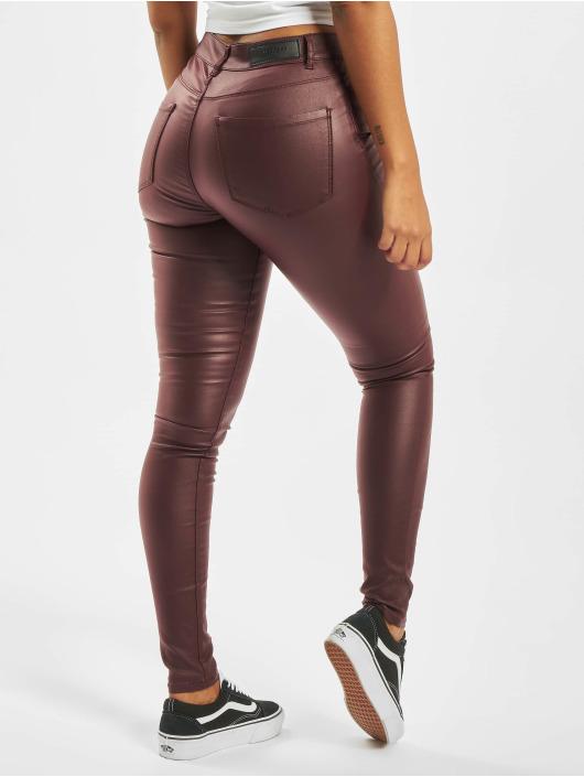 Vero Moda Skinny Jeans vmSeven Smooth brown