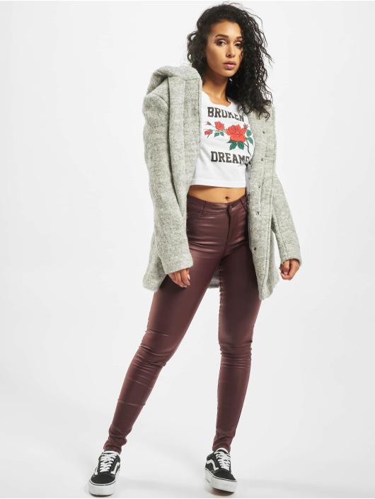 Vero Moda Skinny jeans vmSeven Smooth bruin