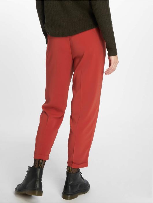 Vero Moda Spodnie wizytowe vmYvonne Grace czerwony